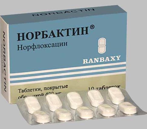 Является ли нолицин антибиотиком