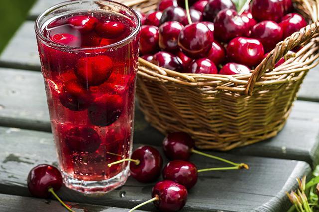 домашний вишневый сок