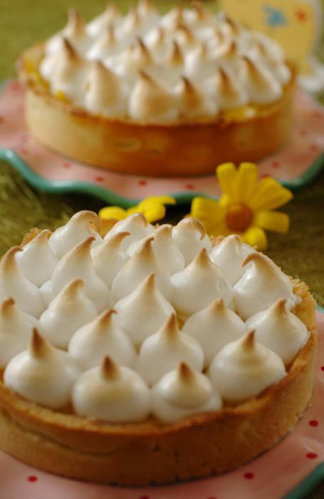 торт лимонный с меренгой рецепт от шеф
