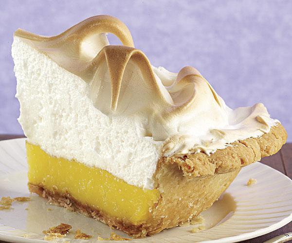 лимонный пирог с меренгой фото рецепт