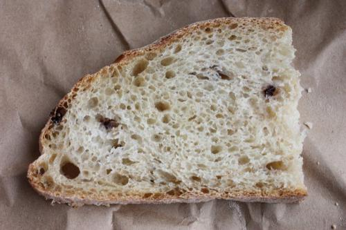 каравай заварного хлеба