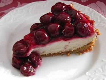 рецепты пирогов с творогом и вишней