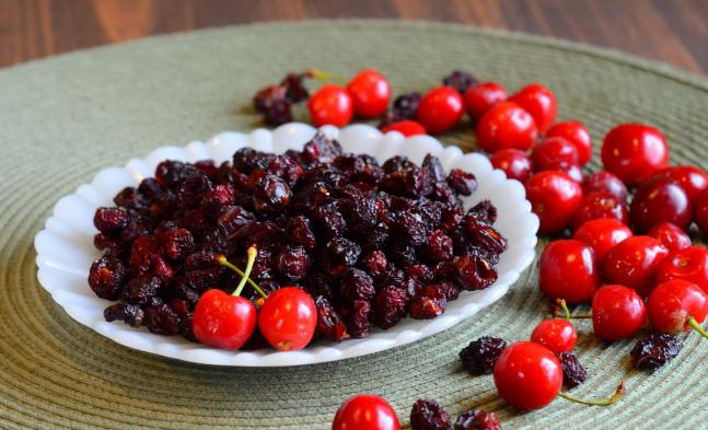 вяленая вишня рецепт в духовке