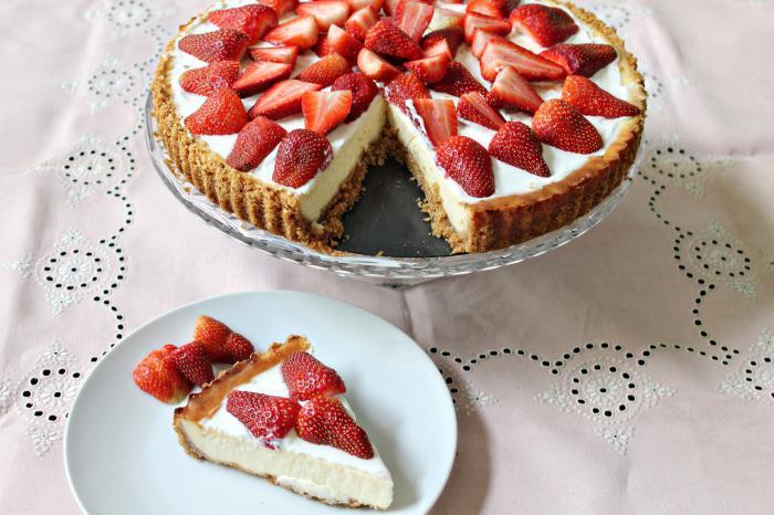 Рецепт пирога со свежими ягодами