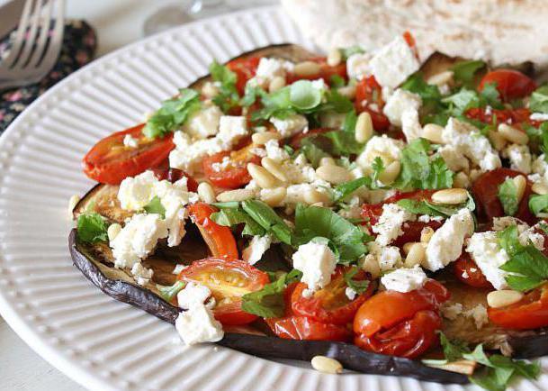рецепт салата с баклажанами и майонезом