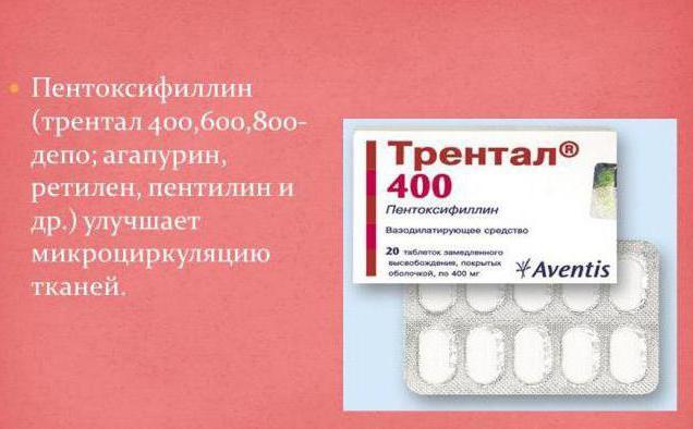 пентоксифиллин инструкция по применению отзывы аналоги