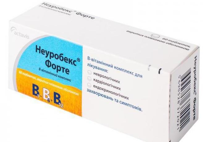 препарат неуробекс инструкция