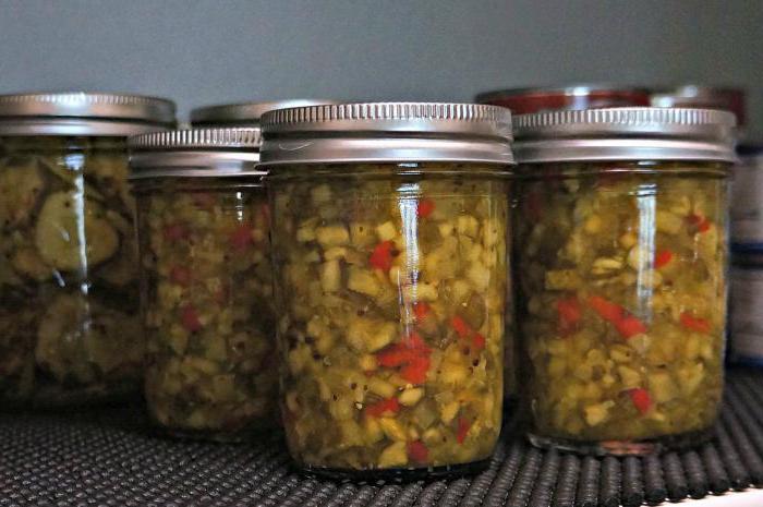 салат из переросших огурцов на зиму рецепты с варкой