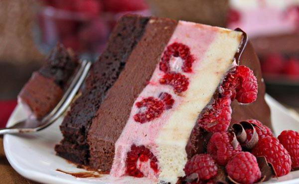 муссовый торт с велюром