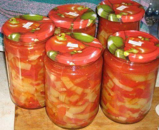 рецепт салат из помидор моркови перца лука