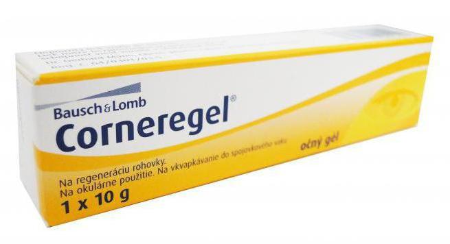 Глазной гель Корнерегель: инструкция по применению, состав, аналоги, отзывы