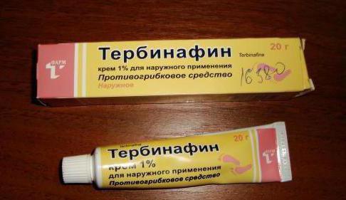 тербинафин мазь от грибка ногтей инструкция