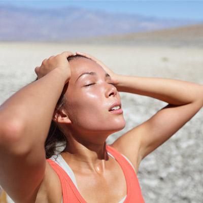 Основные признаки теплового удара. Оказание первой помощи