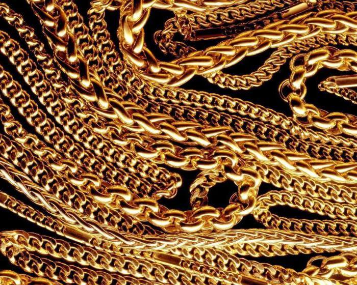ремонт золотых цепочек