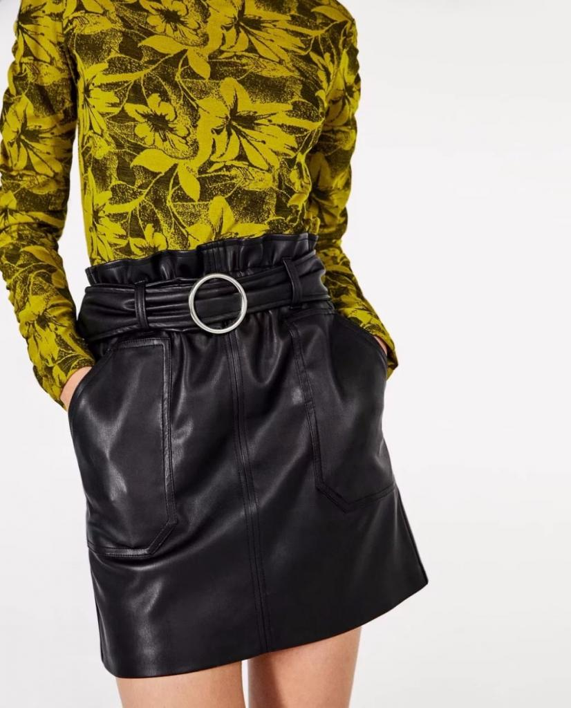 how to iron a leather skirt