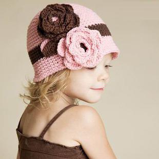 вязание шапки для детей спицами