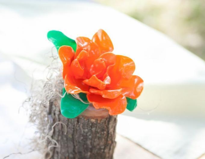 Decorative rose for homemade