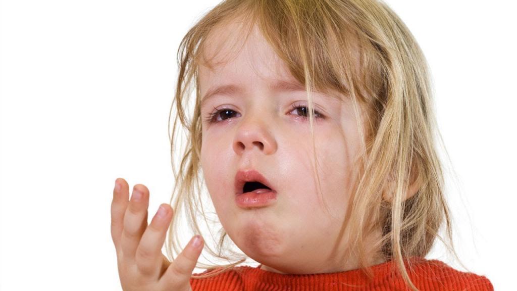 Ребенок больной коклюшем