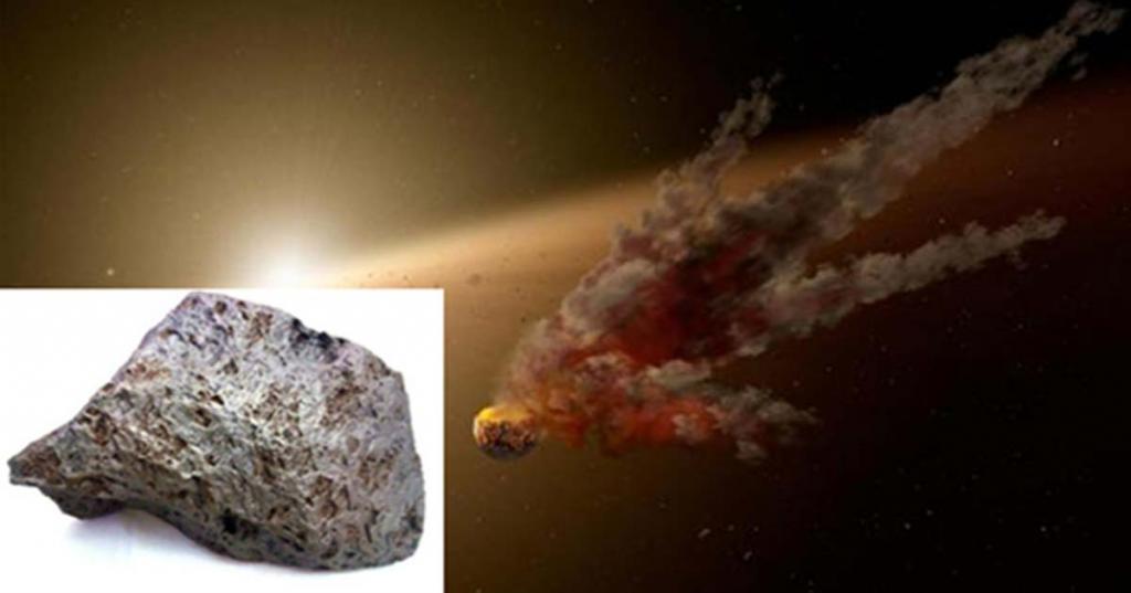 Фото метеорита который пролетел недавно