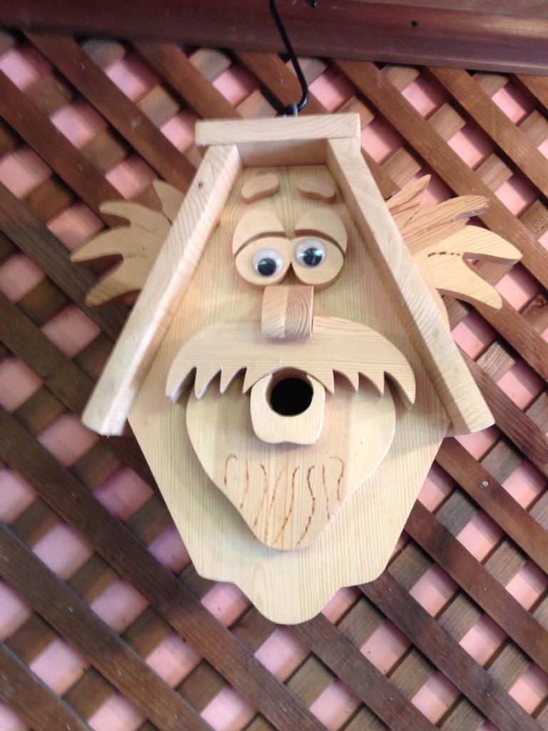 birdhouse - grandpa