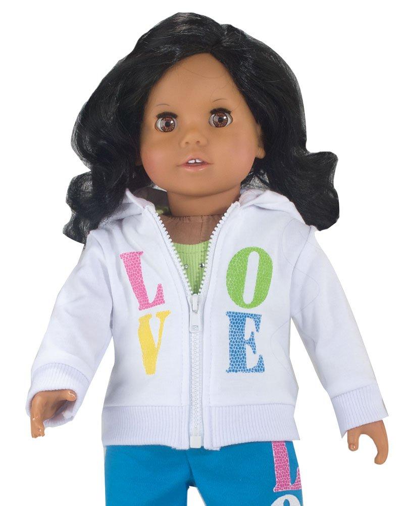 Кукла в свитшоте