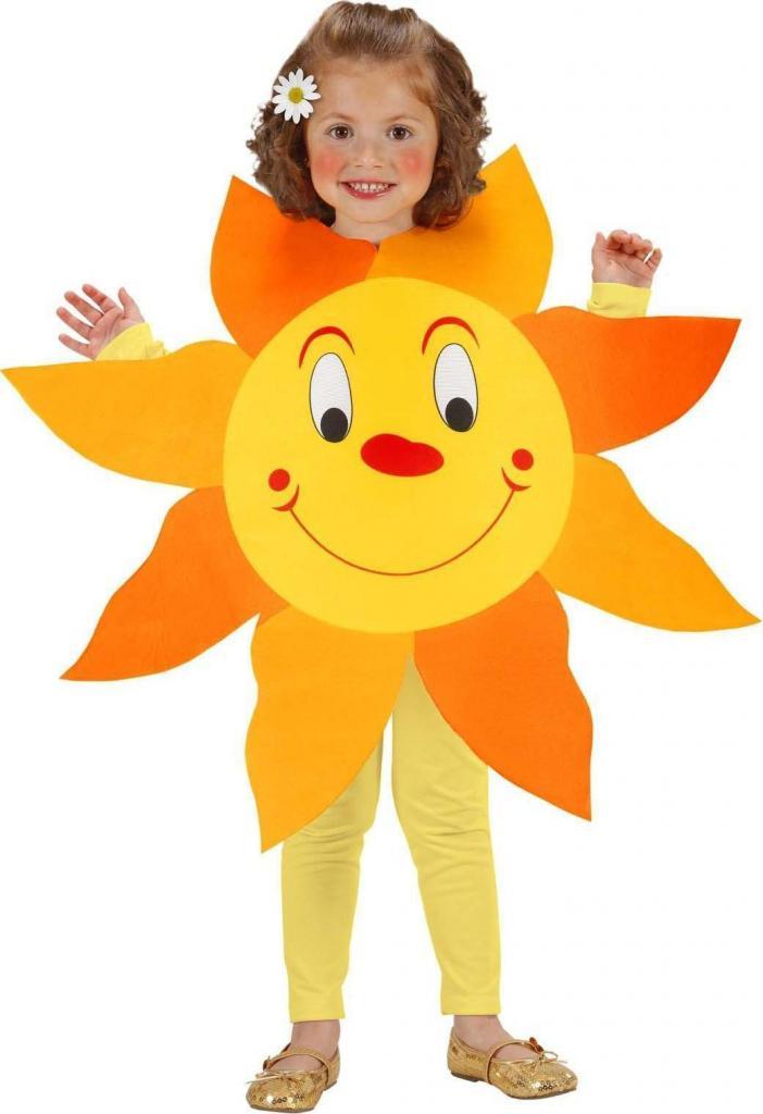 Костюм «Солнышко» для девочки своими руками: три простых варианта