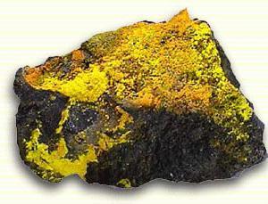руда уран фото