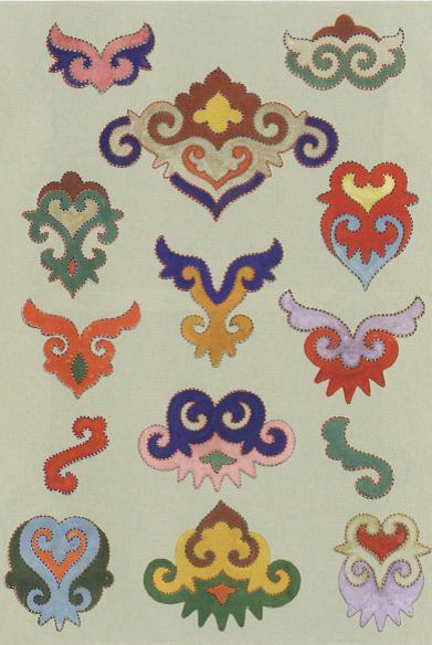 татарские узоры и орнаменты