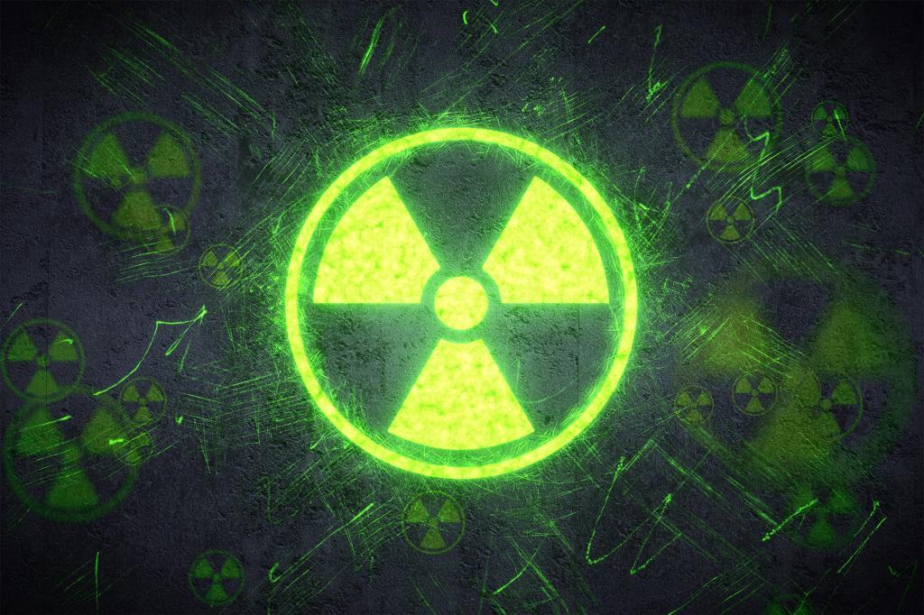 знак радиации фото картинка плант
