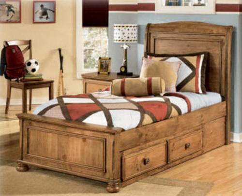 кровати полуторные с ящиками