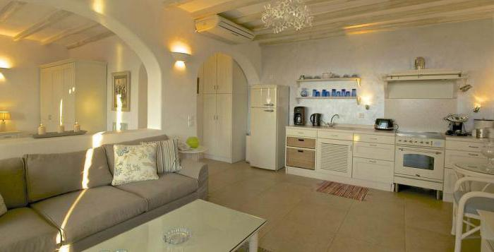современные кухни совмещенные с гостиной