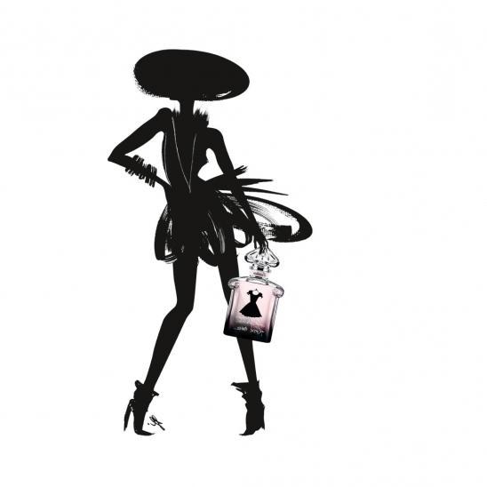Герлен Черное Платье