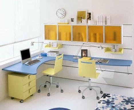 Стол угловой для школьника сэкономит пространство в комнате.