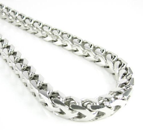 цепочки серебряные