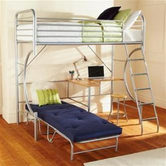 детская кровать металлическая