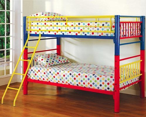 двухъярусные кровати металлические детские
