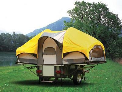 палатка прицеп
