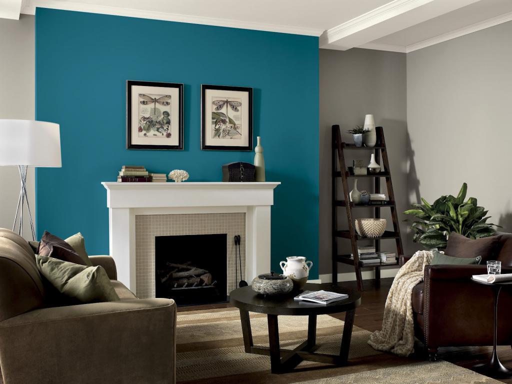 С каким цветом сочетается бирюзовый в интерьере: идеи и варианты, примеры сочетаний, фото