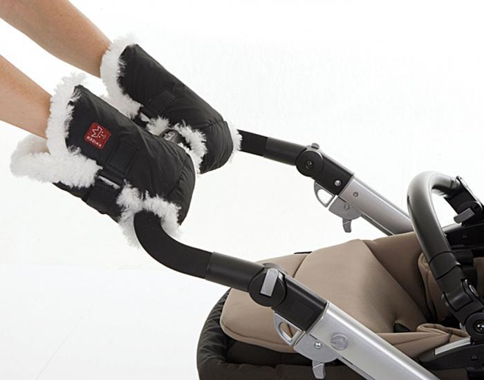 меховая муфта на коляску