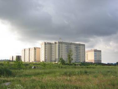 Поселок бугры ленинградская область