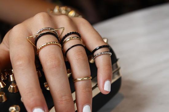 Кольцо на фаланге опять в моде!