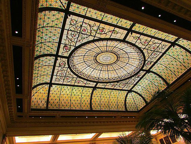 Витражный потолок с подсветкой своими руками