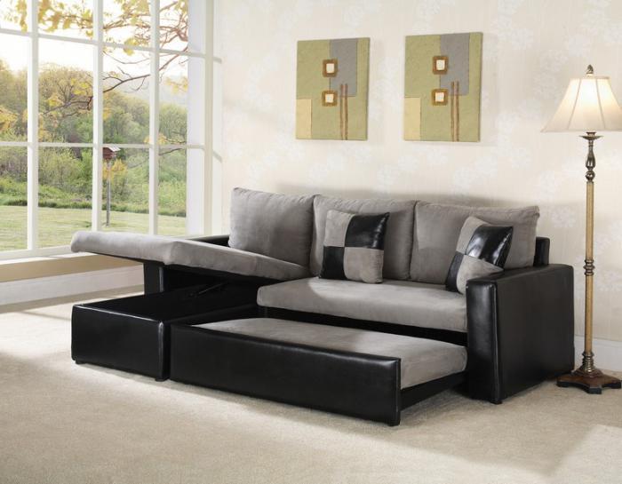 виды угловых диванов