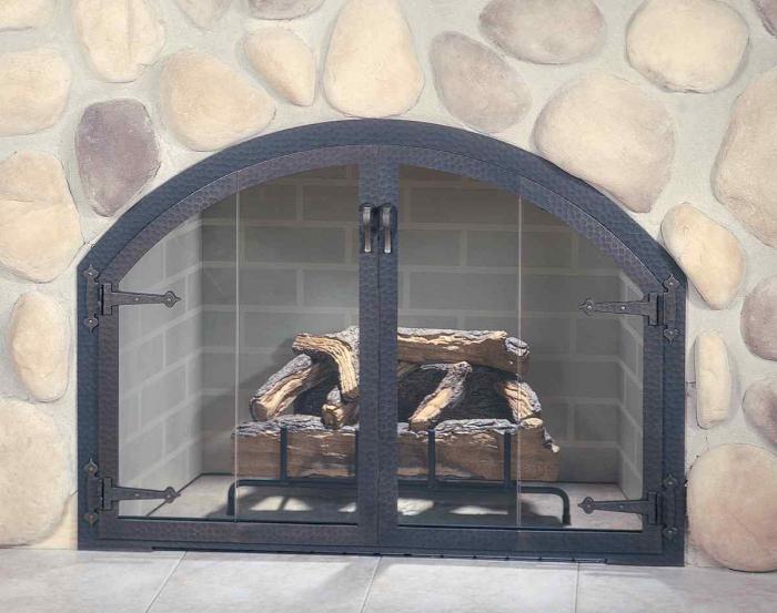 огнеупорные дверцы для камина