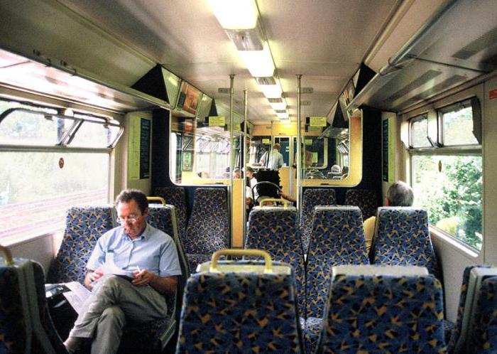 схема сидячего вагона ржд