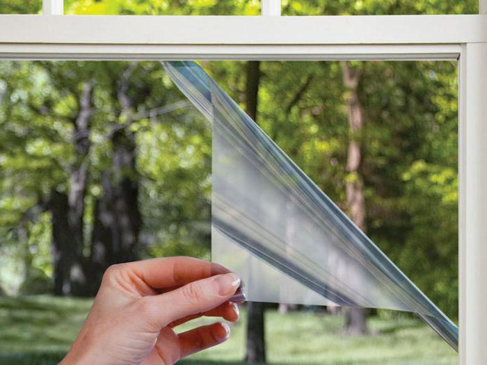 термоусадочная пленка на окна