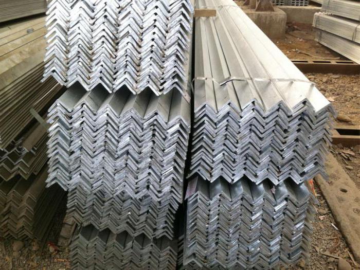 уголки стальные горячекатаные равнополочные сортамент