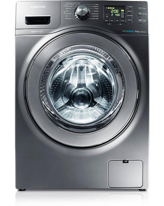 Инструкция стиральной машины samsung eco bubble