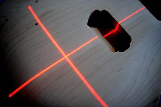 Лазерный уровень леруа