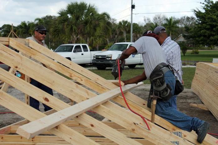 Стропила для крыши из профнастила своими руками